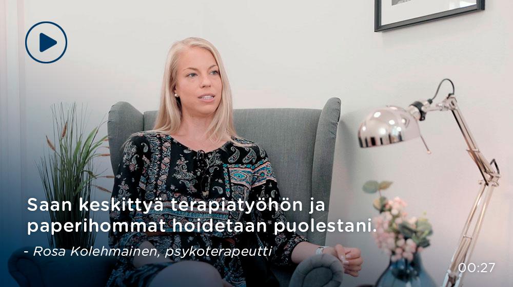 Rosa Kolehmainen, psykoterapeutti