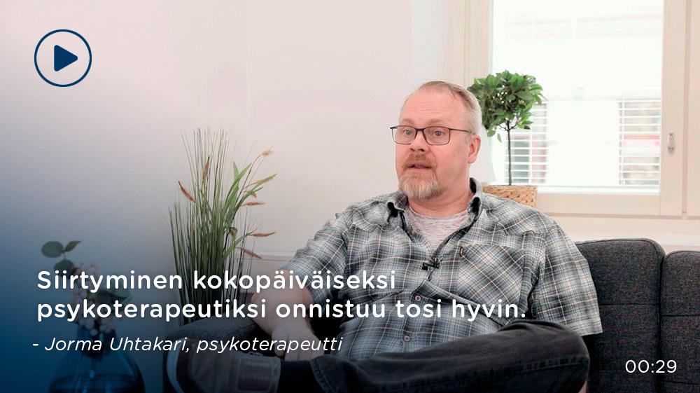 Jorma Uhtakari, psykoterapeutti